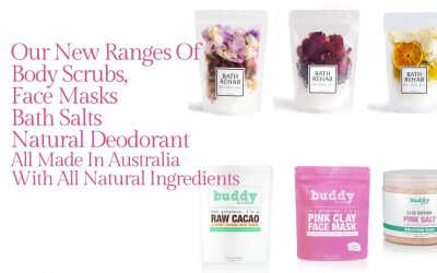 Winter, The season for soaks in the bath with Bath Salts and Body Scrubs & a Face Mask